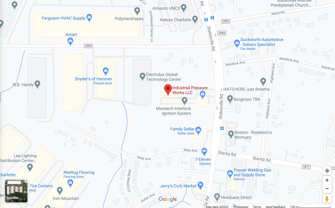 Industrial Pressure Works LLC - Google Map